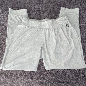 Reebok Gray Workout Pants